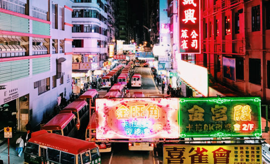 exploring mong kok - neon signs