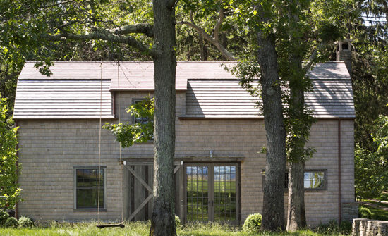 Front exterior of the Peconic Barn Guest House